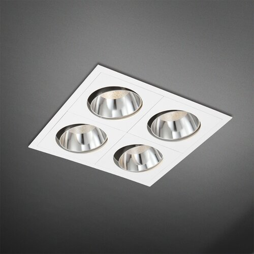 4 Light Square Recessed Kit