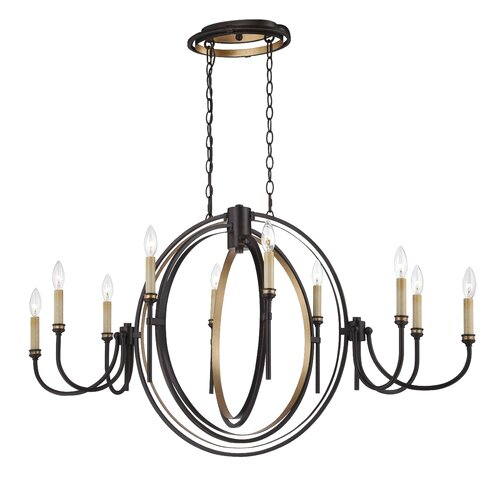 Infinity 10 Light Chandelier