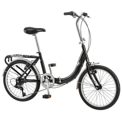 Schwinn Folding Loop - Aluminum Frame 7 Speed Cruiser Bike