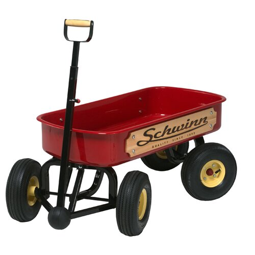 Schwinn Quad Steer Wagon Ride-On