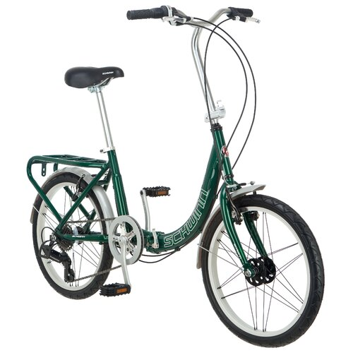 "Schwinn 20"" Loop 7 Speed Folding Bike"