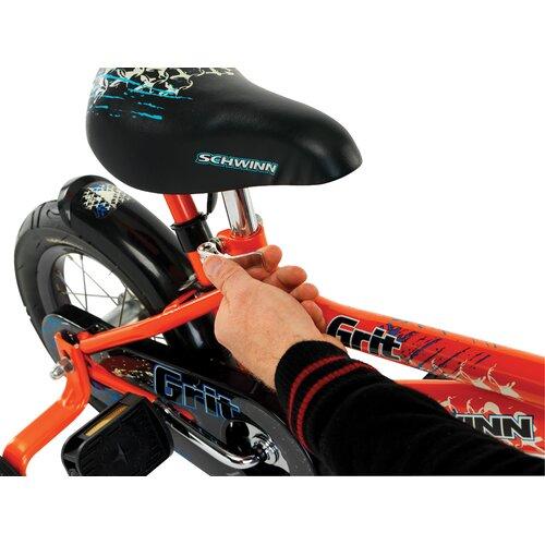 Schwinn Boy's Juvenile Grit Bike with Training Wheels