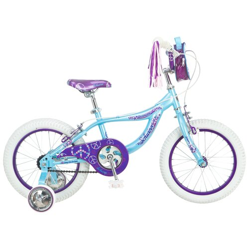 Schwinn Girl's Jasmine Bike with Training Wheels
