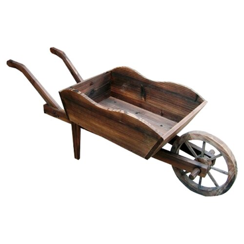 United General Supply CO., INC Wheel Barrow Rectangular Planter