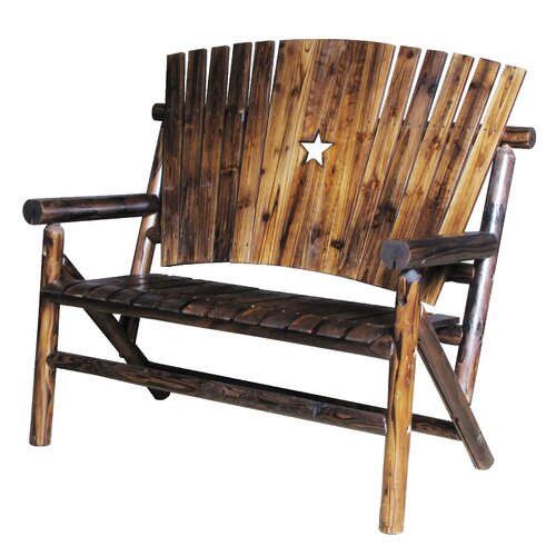 United General Supply CO., INC Double Log Bench