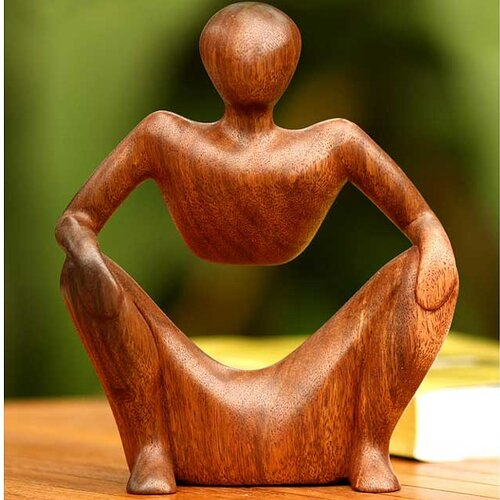 Abstract Sitting Sculpture
