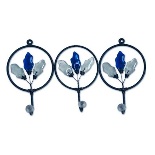 'Blue Revival' Coat Rack