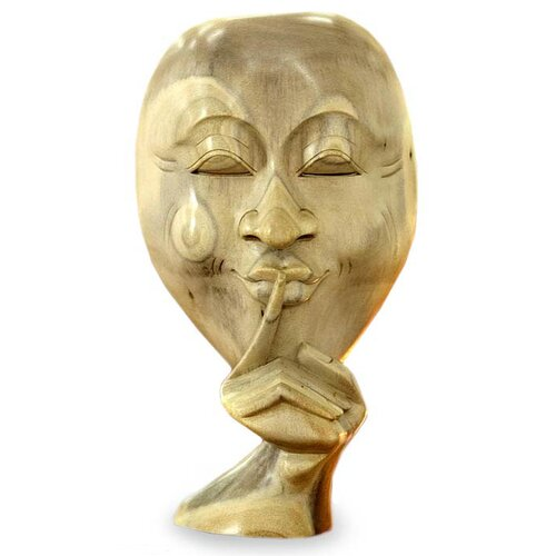 Novica Silence is Golden Bust