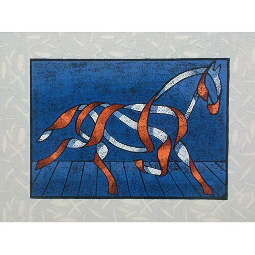 Novica Horse II by Ricardo Siccuro Graphic Art on Canvas