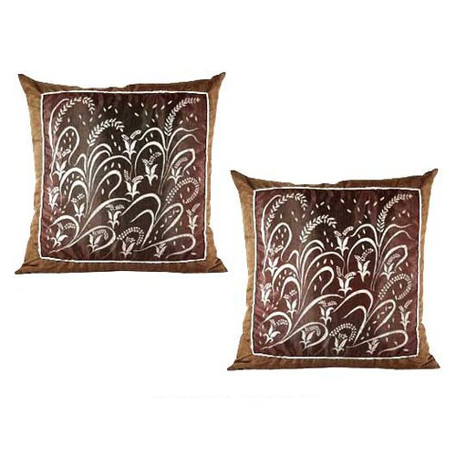 Novica Fertile Field Cushion Cover (Set of 2)