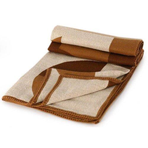 Luxurious Geometry Wool / Acrylic Throw Blanket