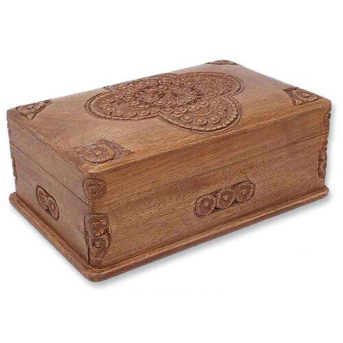 Medallion Jewelry Box