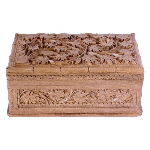 Novica M Ayub Artisan Ivy Fantasy Jewelry Box