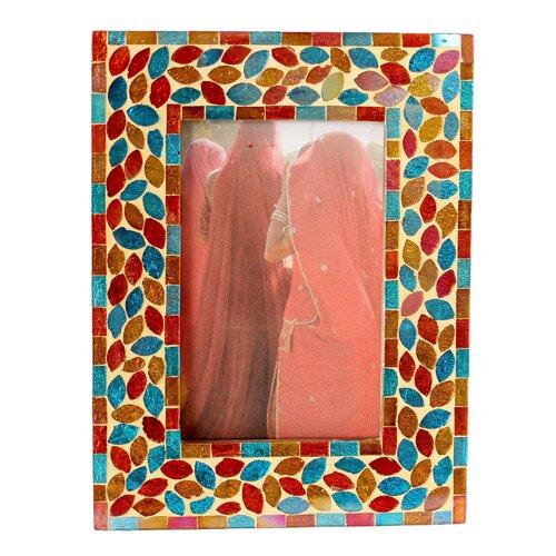 Kamal Artisan Diwali Muse Glass Photo Frame