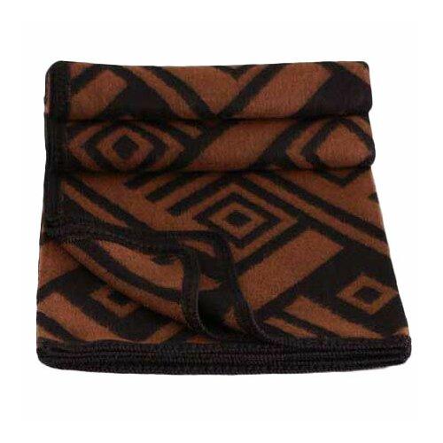 Shadow Labyrinths Wool / Acrylic Throw Blanket