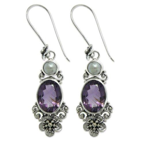 The Buana Gemstone Dangle Earrings