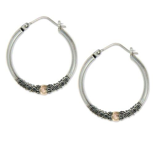 The Diah Arini Hoop Earrings