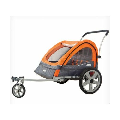 Quick NEZ Bicycle Trailer Double Stroller