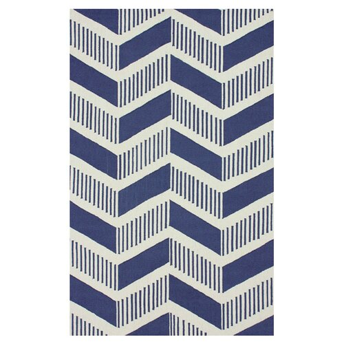 Trellis Blue Shelly Rug