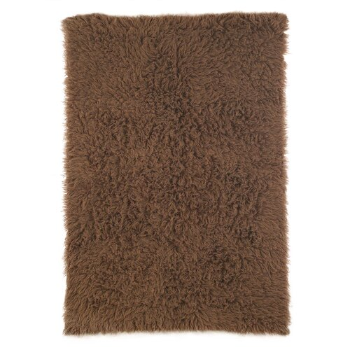 nuLOOM Flokati Chocolate Kids Rug