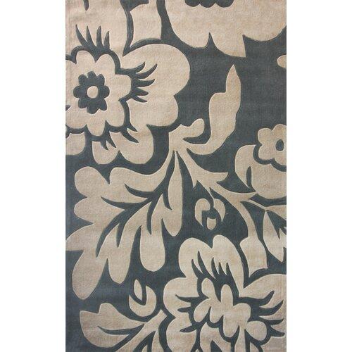 Cine Bold Floral Slate Rug