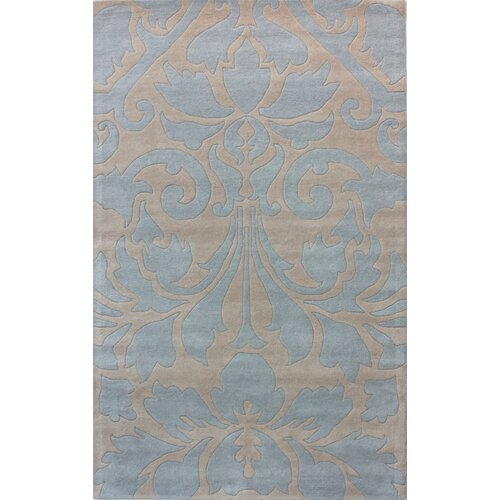 Gradient Viola Light Blue Rug