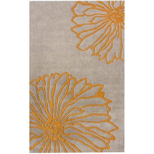Gradient Floralina Yellow Rug