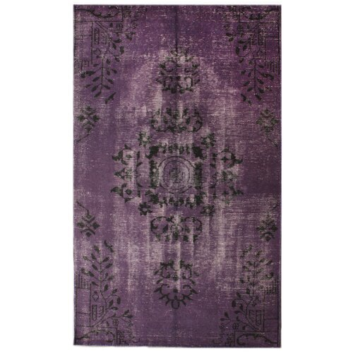 Harper Overdyed Purple Rug