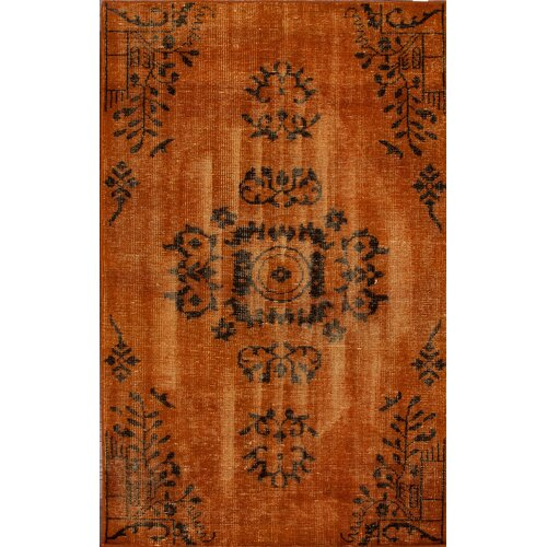 Harper Overdyed Orange Rug