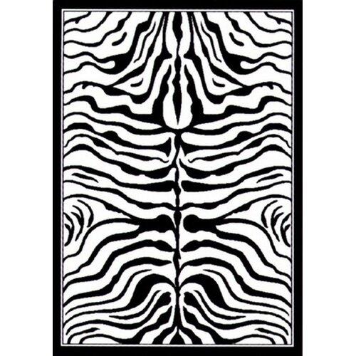 Safari Black and White Cyroth Rug