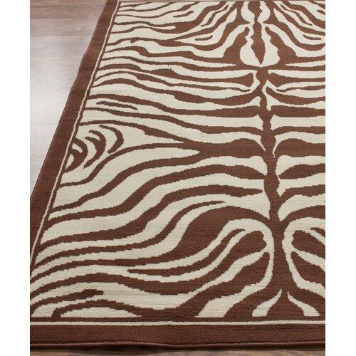 Zebra Rug Wayfair: NuLOOM Zebra Print Brown/White Area Rug & Reviews