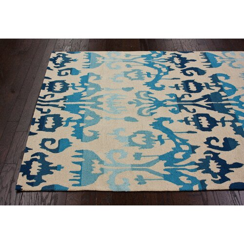nuLOOM Pop Lanterns Blue Rug