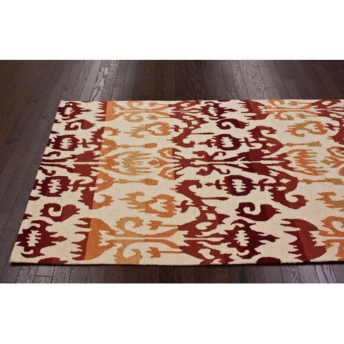 nuLOOM Pop Lanterns Rust Rug