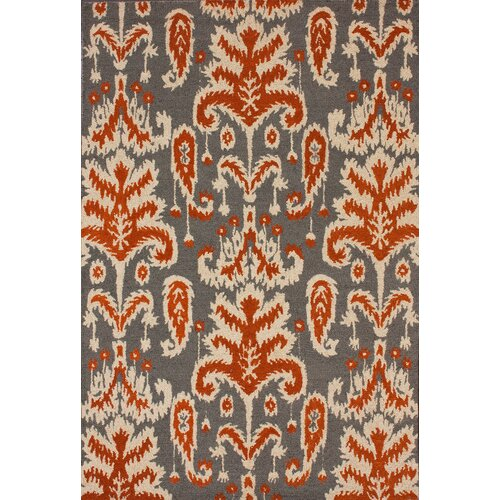 nuLOOM Marbella Verden Ikat Smoke Brown/Tan Area Rug