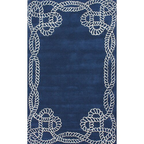 nuLOOM Fancy Regal Blue Lassi Rug