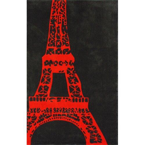 Cine Orange Viva La France Novelty Rug