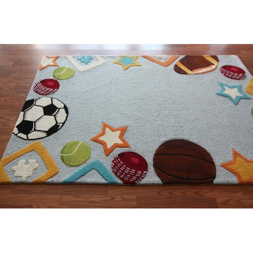 nuLOOM Kinder Sky Funtime Novelty Rug