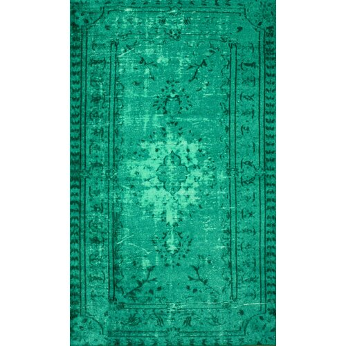 Nuloom Crandall Turquoise 7 Ft 10 In X 9 Ft 6 In Area: NuLOOM Hawkesbury Turquoise Southwestern Area Rug