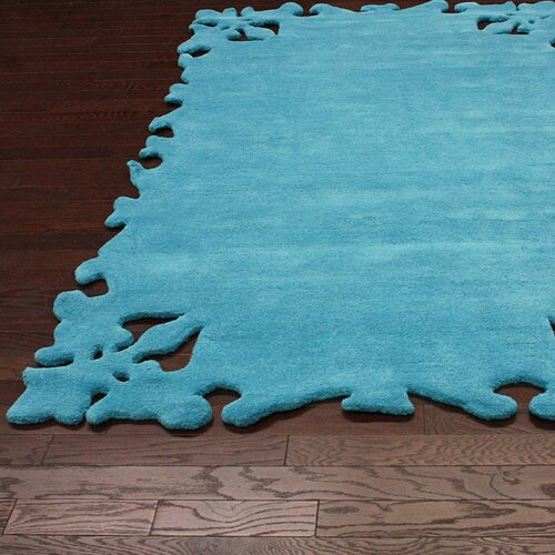 Nuloom Crandall Turquoise Area Rug Reviews: NuLOOM Posh Turquoise Area Rug & Reviews