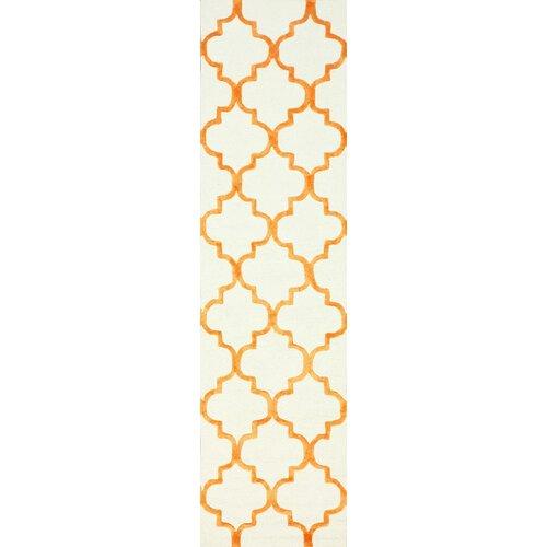 Fancy Tangerine Edison Rug