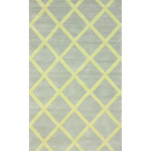 Fancy Baby Yellow Diania Trellis Rug