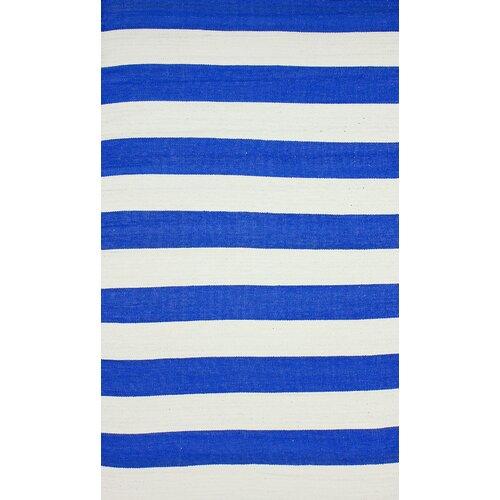 Brilliance Royal Blue Nautical Bold Rug