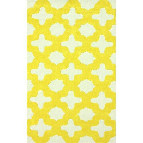 nuLOOM Trellis Yellow Leah Area Rug