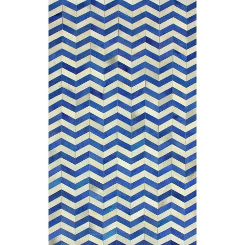 Hides Blue Waves Rug