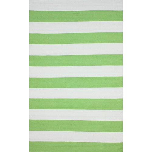 Brilliance Green Nautical Bold Rug