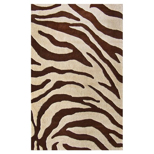 Nuloom Moderna Brown Zebra Print Area Rug Amp Reviews Wayfair