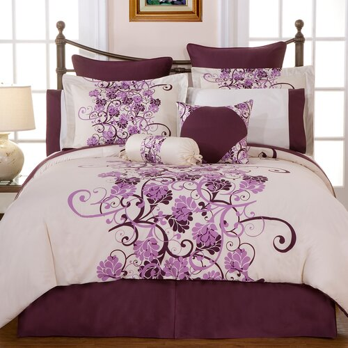 Grapevine 12 Piece Comforter Set