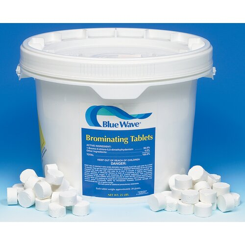 Blue Wave Products 100 lbs Bromine Tablets