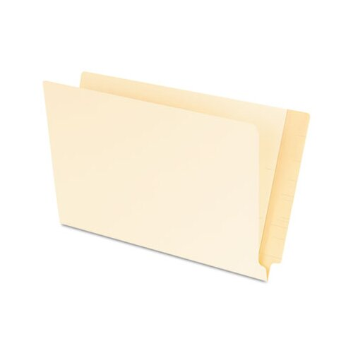 Pendaflex® Laminated Shelf File Folders, Straight Cut End Tab, 11 pt. Legal, 100/Box