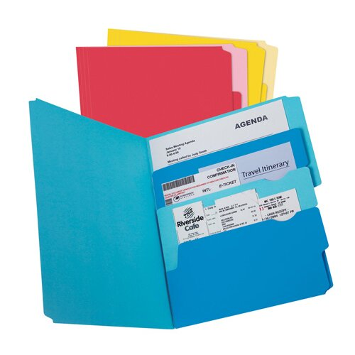 Divide It Up File Folder, 12/Pack